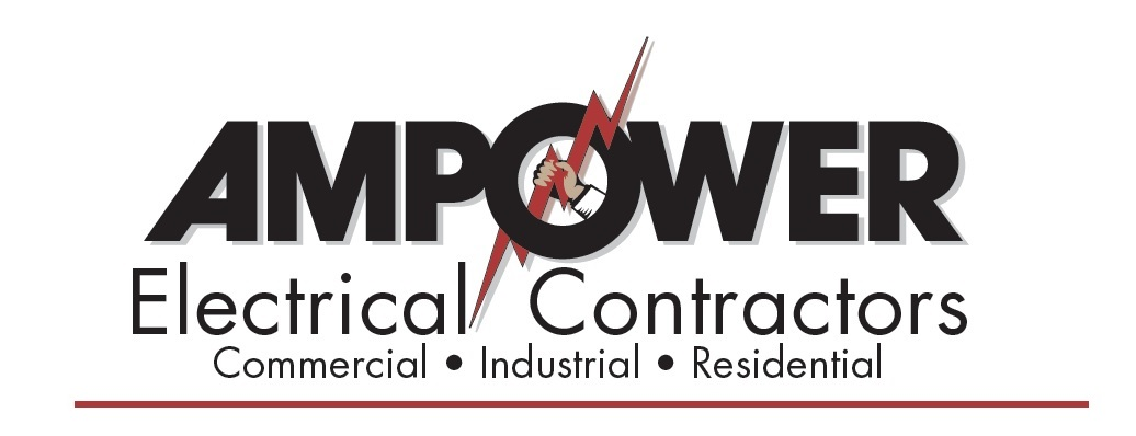 logo ampower electrical contractors